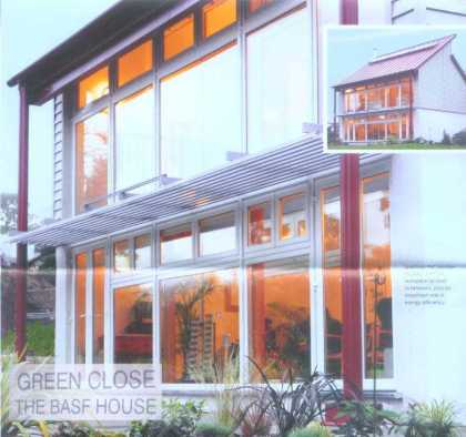 """""""BASF house"""" atau """"rumah 1,5 liter"""", model rumah masa depan untuk menjawab tantangan semakin terbatasnya sumberdaya alam dan energi"""